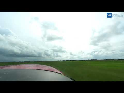 Take Off at Texel Airport (EHTX) on board a Cessna 206 Stationair (PH-JBY)