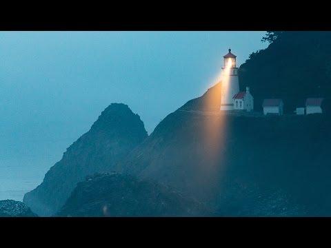Heceta Head Lighthouse im Nebel