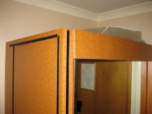 Detail Kleiderschrank