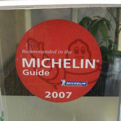 Erwähnung im Guide Michelin 2007