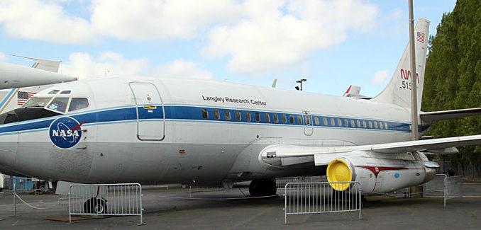 Prototyp der Boeing 737