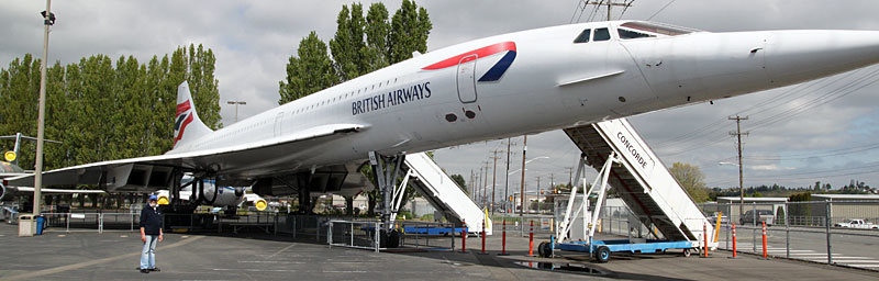 Concorde der British Airways