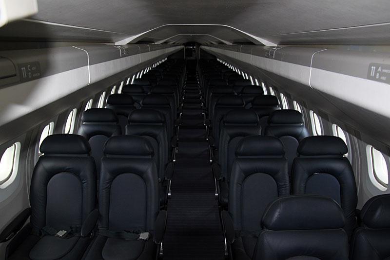Kabine der Concorde