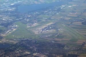 Flughafen Amsterdam-Schiphol (AMS) aus der Luft