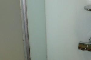 Schimmelspuren in der Dusche