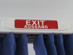 Exit - Ausgang