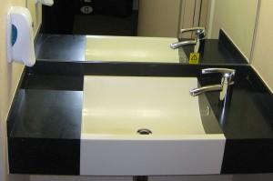 Das Designer-Waschbecken