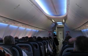 """Das """"Sky Interior"""" an Bord der D-ABLF: Ziemlich stylisch"""