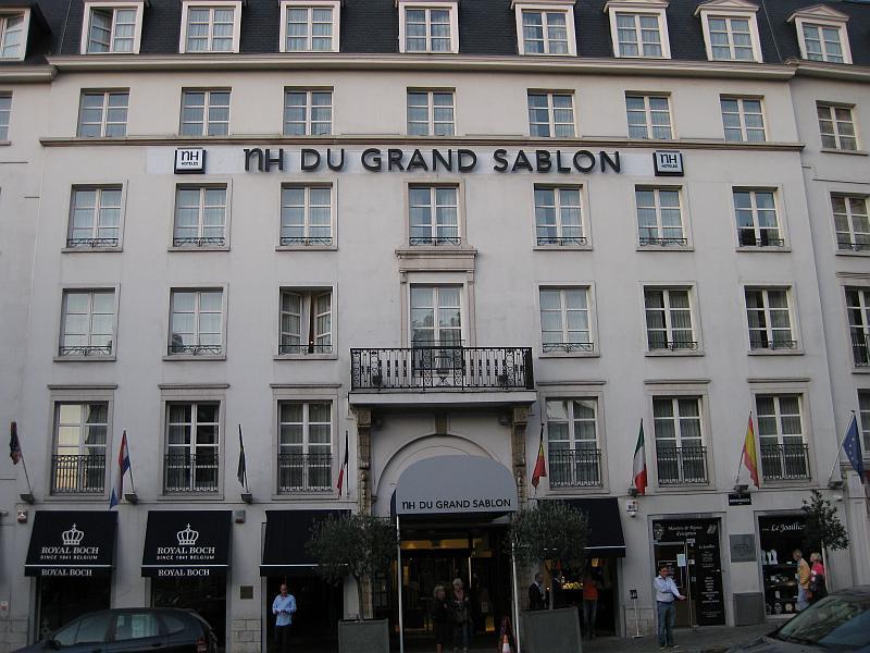 Hotel du Grand Sablon - Außenansicht
