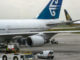 Boeing 747 (ZK-NBV) der Air New Zealand