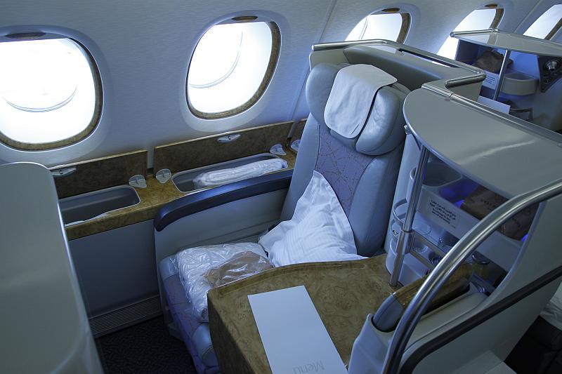 Sitz 23 K auf dem Flug von Dubai via Melbourne nach Auckland