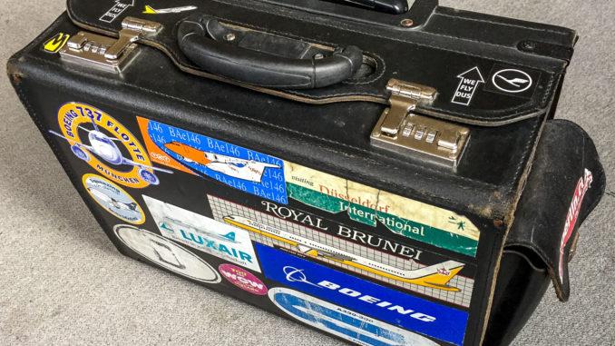 Pilotenkoffer als Handgepäck (Symbolbild)