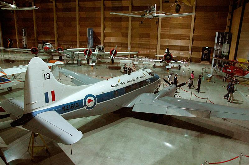 MOTAT 2 - im neuen Hangar