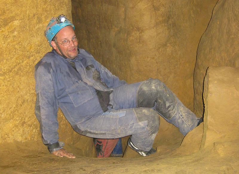 So eine Höhlentour ist anstrengend