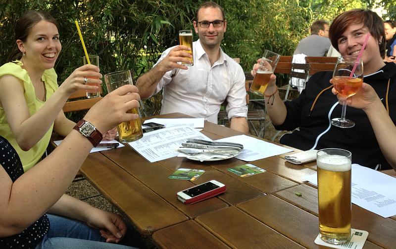 Prost! Auf das nächste Kölner Reiseblogger-Treffen!