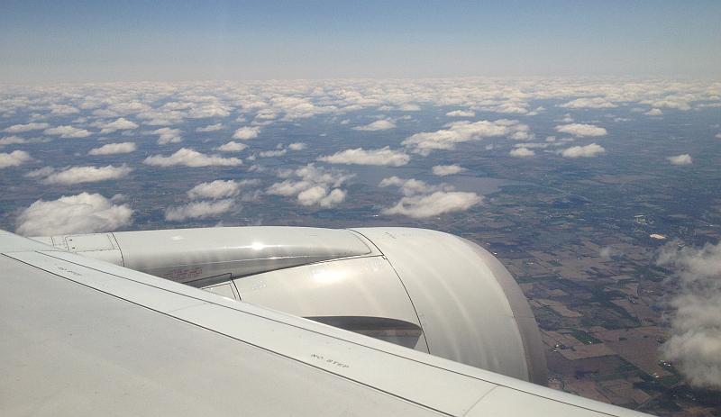 Wolken über Wisconsin