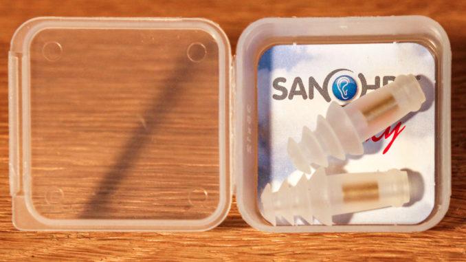 Sanohra Fly in der Aufbewahrungs-Schachtel