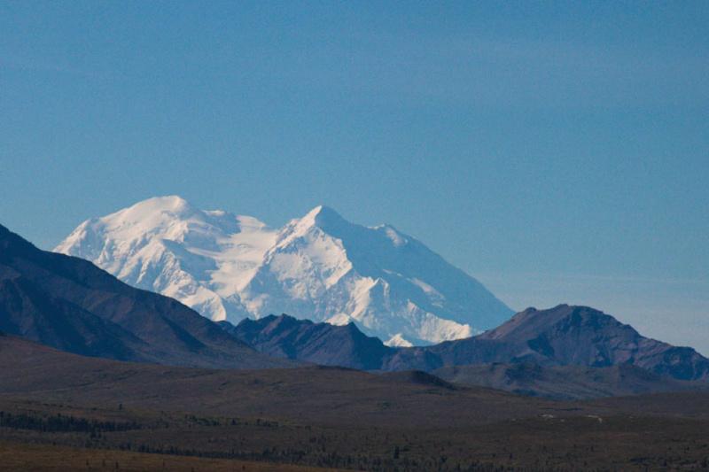 Der Mount McKinley ...