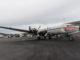 """DC6 (N444CE) """"Spirit of America"""" auf der Rampe von Everts Air"""
