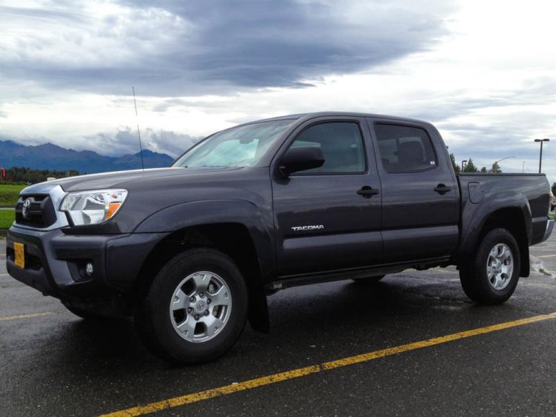 Das Spottermobil: Ein Toyota Tacoma