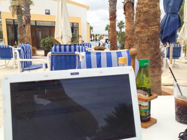Bloggen am Pool - einfach cool!