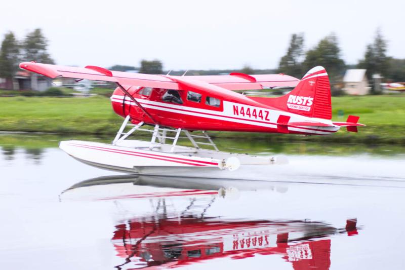Weil es so schön ist, hier noch der Mitzieher einer anderen DHC-2 Beaver