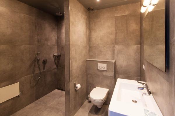 Das Bad in Betonoptik