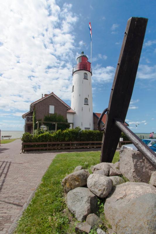 Der Leuchtturm als Postkartenmotiv ;-)