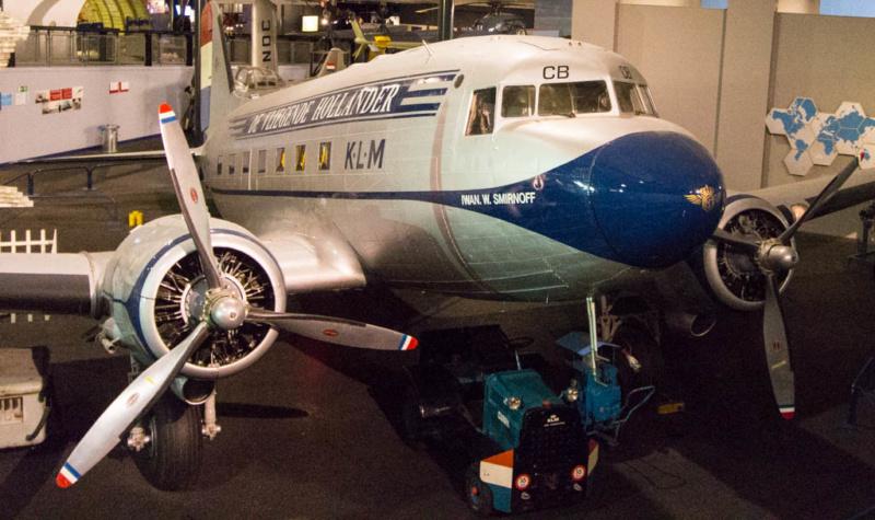 DC-3 der KLM