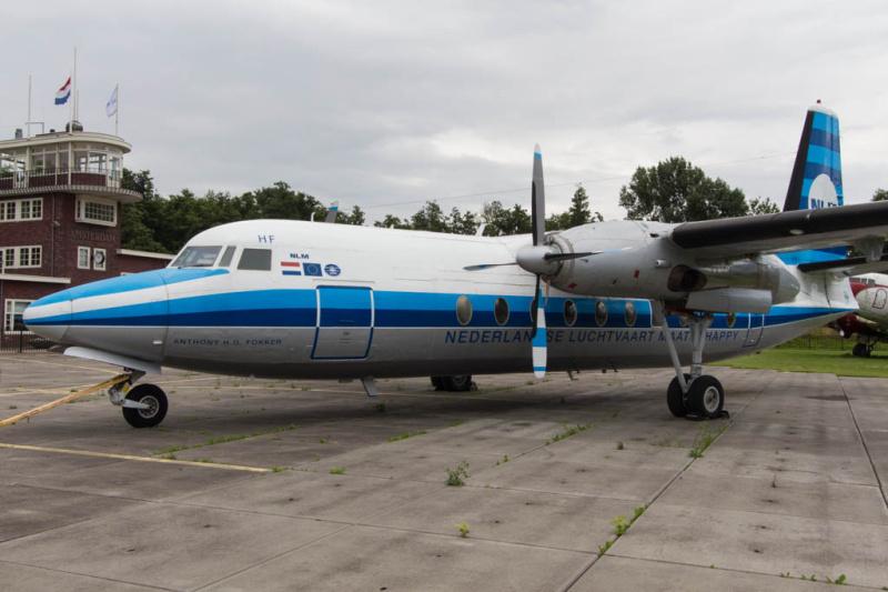 Fokker 27 (PH-FHF) der ehemaligen NLM (Nederlandse Luchtvaart Maatschappij)