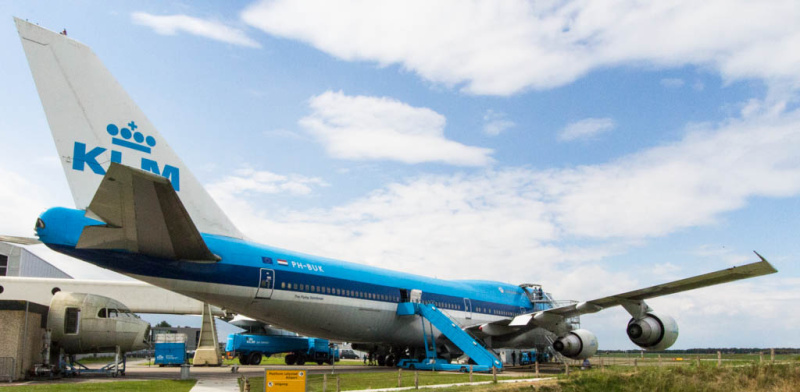 KLM Boeing747-200M (PH-BUK)