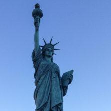 Diese Freiheits-Statue habe ich in Neenah / Wisconsin entdeckt