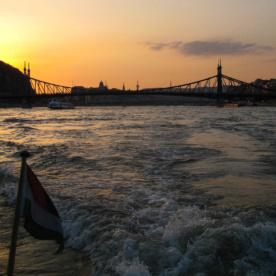 Die Fahrt mit dem Speedboat auf der Donau war schon eine tolle Sache