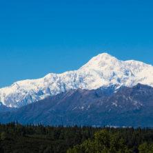Den Denali / Mt. McKinley ohne Wolken zu sehen, ist nicht jedem vergönnt