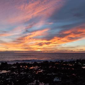 Klasse Sonnenuntergang auf La Gomera