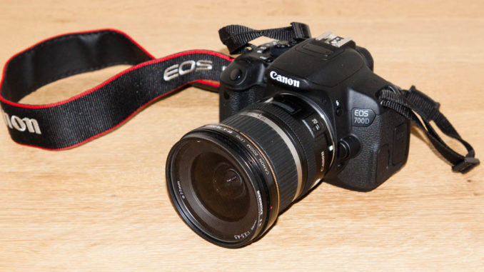 Canon EOS 700D mit EF-S 10-22 mm / 3.5-4.5