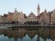 Die alten Gildenhäuser von Gent