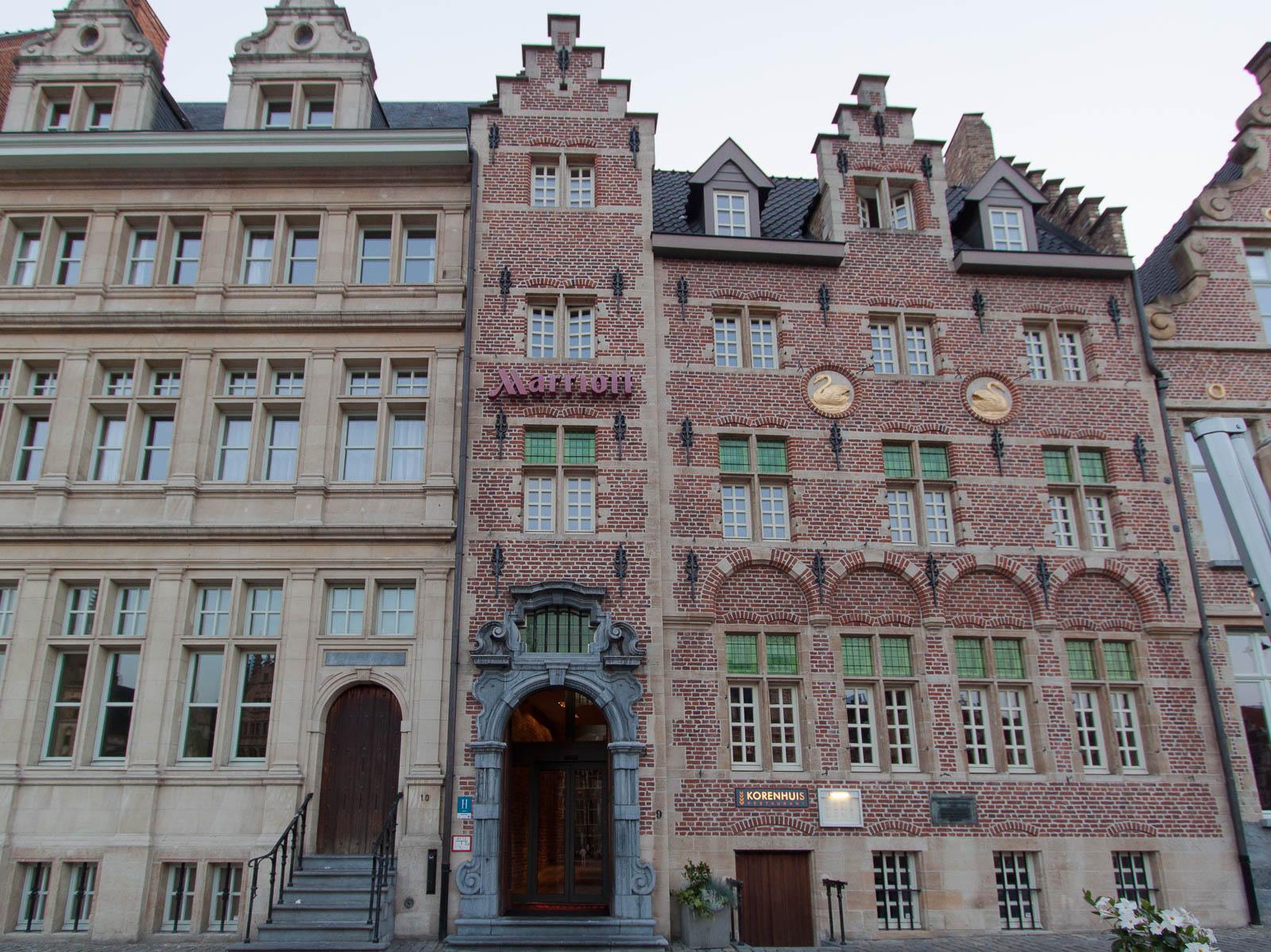 Gent Marriott Hotel von Außen