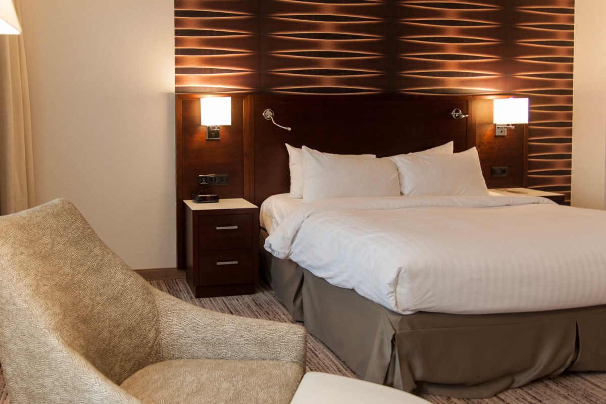 Executive Room im Marriott Hotel Köln
