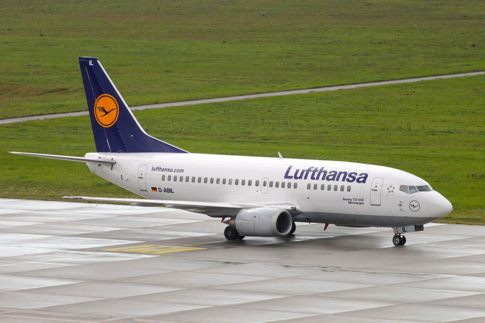 Symbolbild: Lufthansa Boeing 737 (aufgenommen in Leipzig (LEJ))