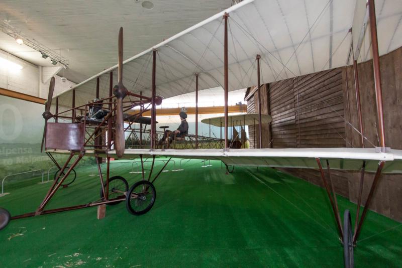 Caproni CA1 - das älteste noch erhaltene italienische Flugzeug