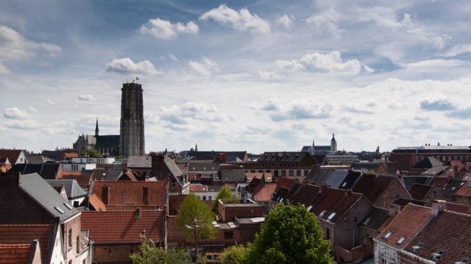 Blick über Mechelen