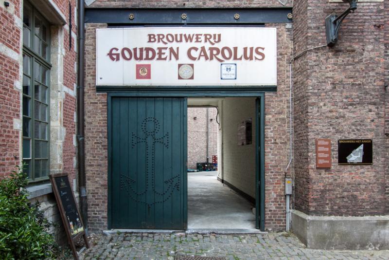 Eingang zur Brauerei Het Anker