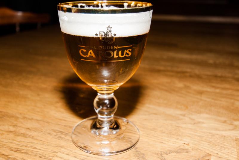 Bierprobe im Anschluss an die Brauereiführung