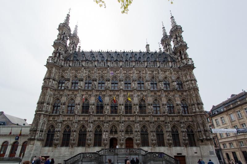 Das Stadhuis von Leuven