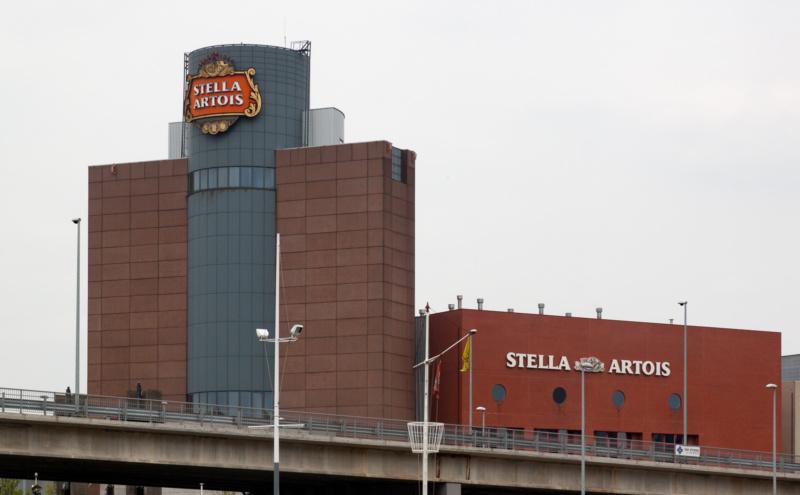 Stella Artois Brauerei in Leuven