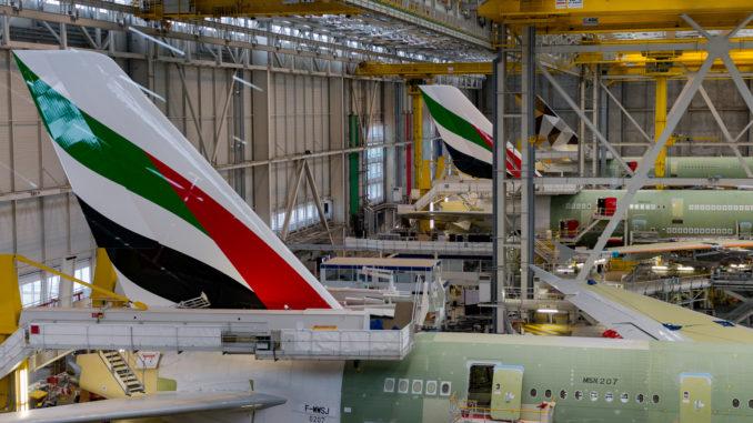 Die Airbus A380 Fertigung in Toulouse