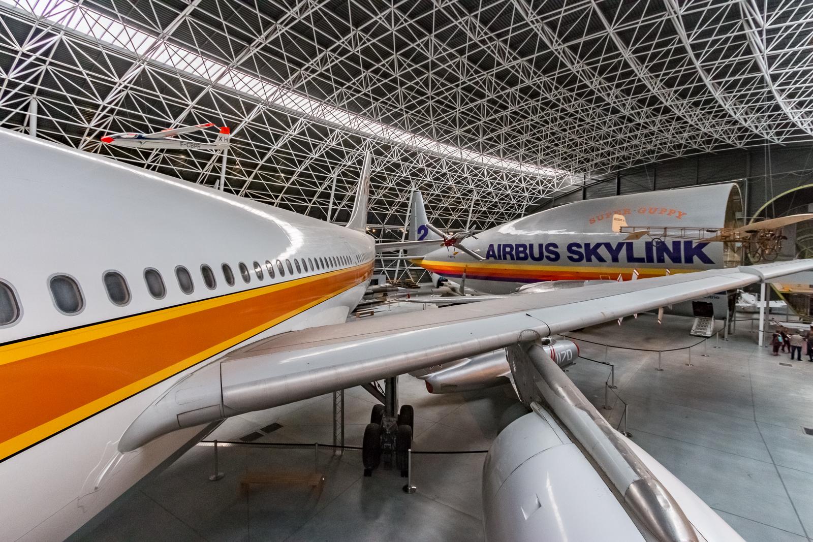 Airbus A300 und Super Guppy im Musée Aeroscopia