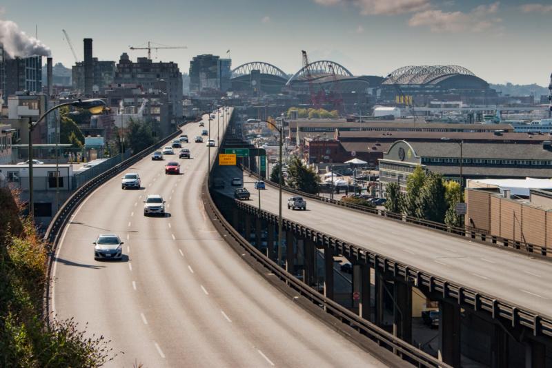 Kein hübscher Anblick - der Alaska Way Viaduct