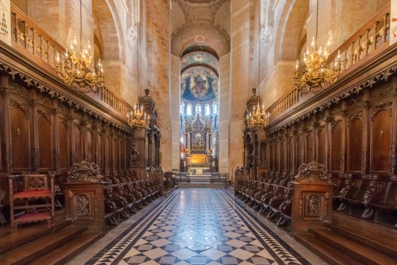 Chorgestühl der Basilika Saint-Sernin